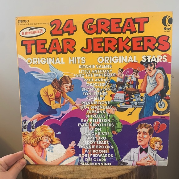 VINTAGE / Record / 24 Great Tear Jerkers / 1970s